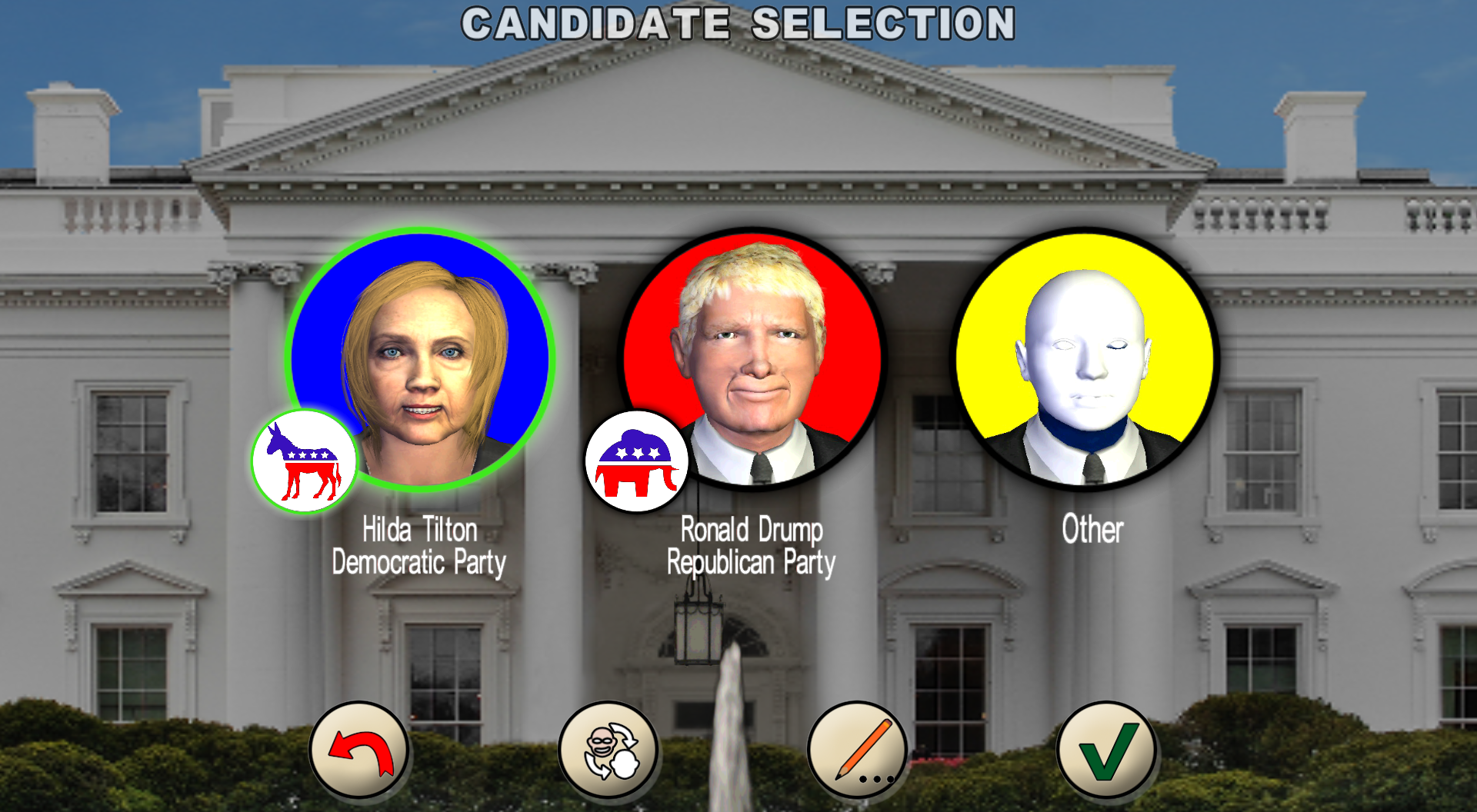 Choose your candidate